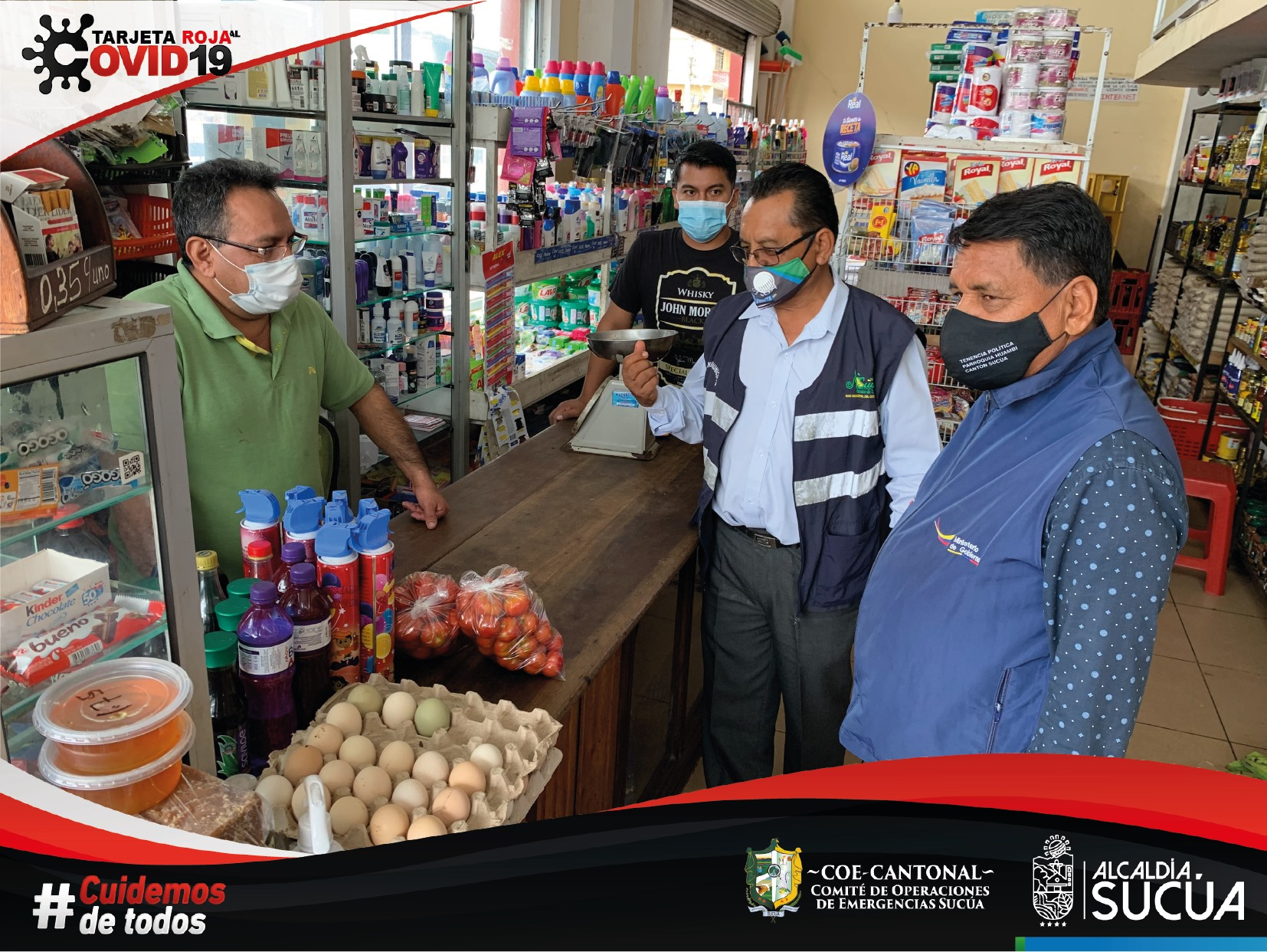 Continúan controles a ciudadanos y comercios frente a la pandemia