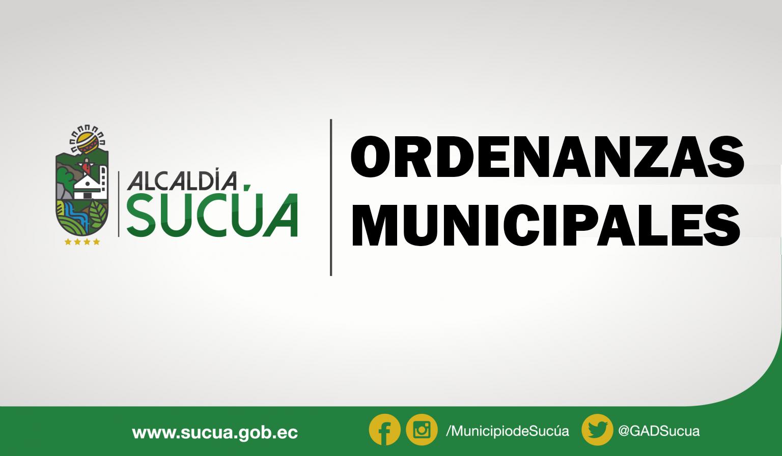 Ordenanza para el fortalecimiento de las directivas barriales y del comité general de barrios urbanos del cantón Sucúa