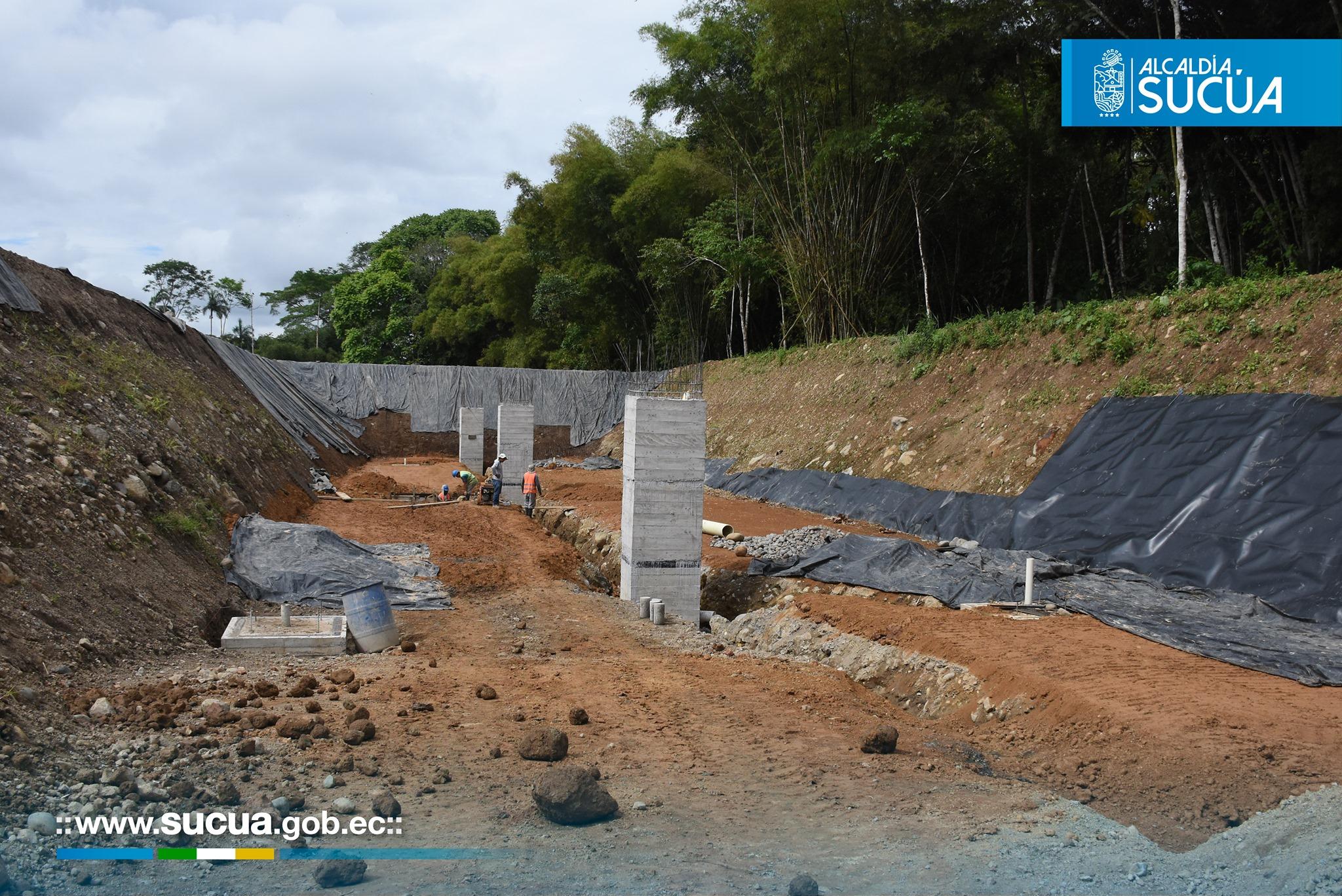 Obras para Sucúa – construcción 1ra. etapa de relleno sanitario